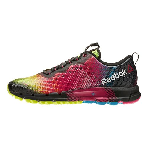 Womens Reebok All Terrain Thunder 2.0 Running Shoe - Pink/Black 10.5