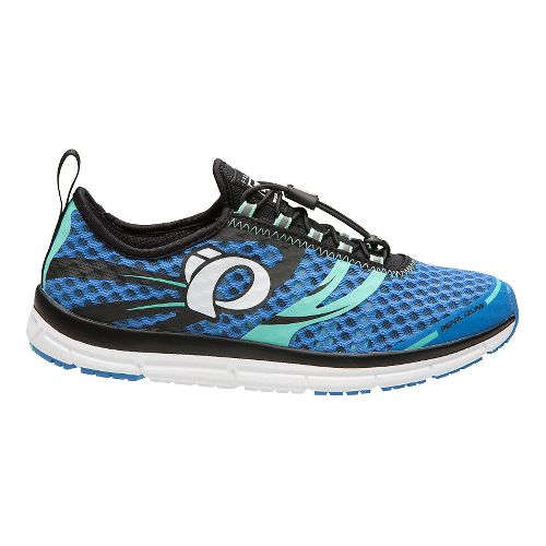 Womens Pearl Izumi EM TRI N 2 v2 Racing Shoe - Gumdrop/Deep Lake 10.5