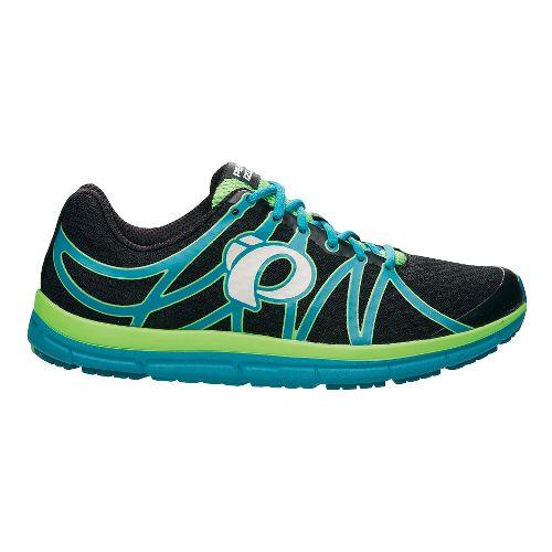 Mens Pearl Izumi EM Road M 2 v2 Running Shoe - Black/Harbor Blue 7.5