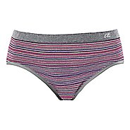 Womens R-Gear Undercover Seamless Stripe Hipster Bikini Underwear Bottoms
