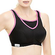 Womens Glamorise No-Bounce Cami B/C Sports Bras - Black 50C