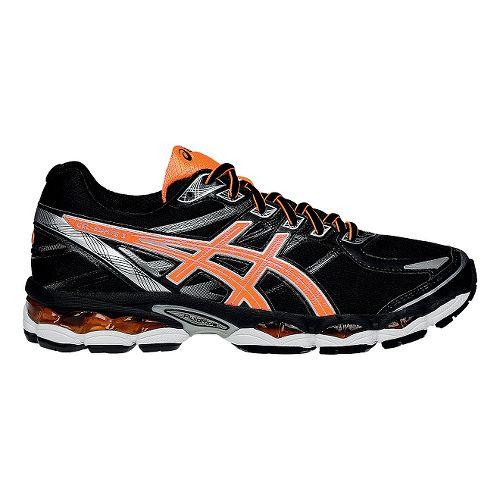 Mens ASICS GEL-Evate 3 Running Shoe - Black/Orange 11.5