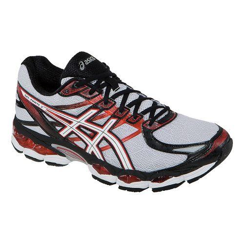 Mens ASICS GEL-Evate 3 Running Shoe - Lightning/Red 11