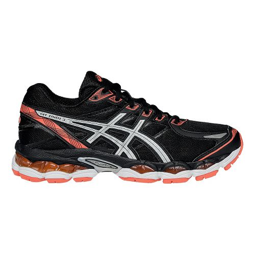 Womens ASICS GEL-Evate 3 Running Shoe - Black/Silver 10.5