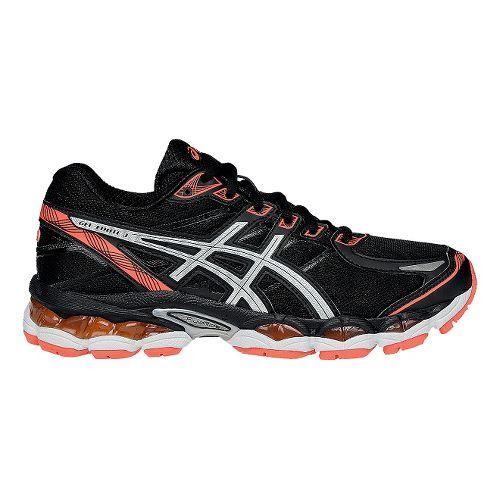 Womens ASICS GEL-Evate 3 Running Shoe - Black/Silver 7.5