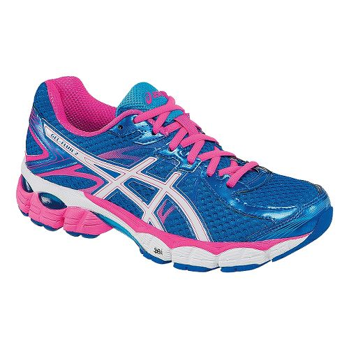 Womens ASICS GEL-Flux 2 Running Shoe - Blue/Pink 8.5