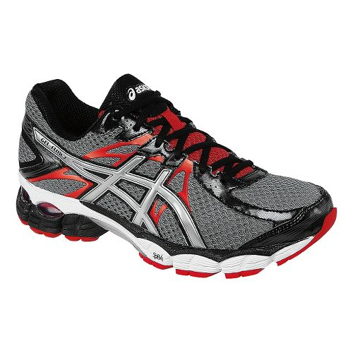 Mens ASICS GEL-Flux 2 Running Shoe - Carbon/Red 7