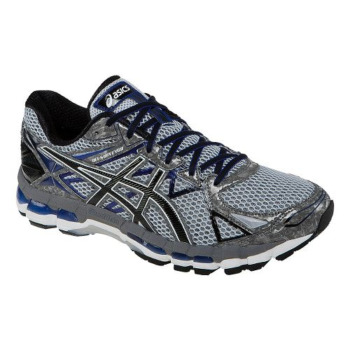 Mens ASICS GEL-Surveyor 3 Running Shoe - Stone/Blue 7.5