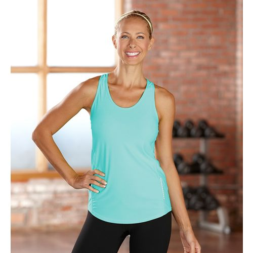 Womens R-Gear Fast and Fab Singlet Technical Top - Aruba Blue XS