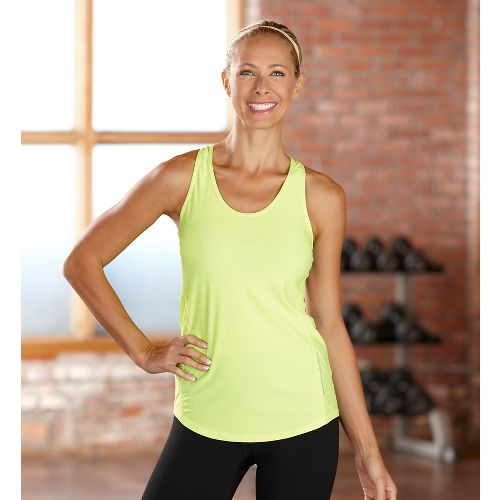 Womens R-Gear Fast and Fab Singlet Technical Top - Lemon Lime XS