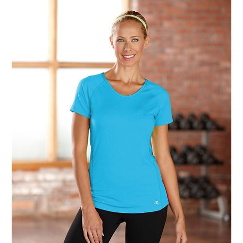 Womens R-Gear Fast and Fab Short Sleeve Technical Top - Blue Lagoon XS