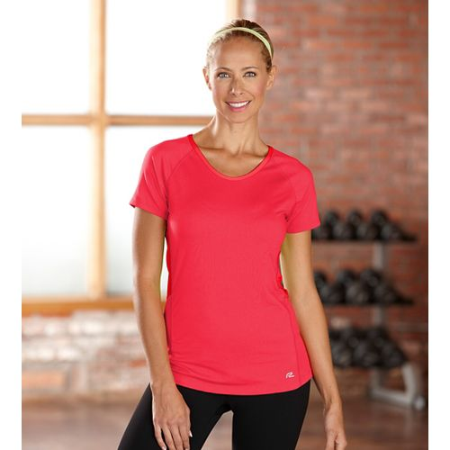 Womens R-Gear Fast and Fab Short Sleeve Technical Top - Poppy Pink S