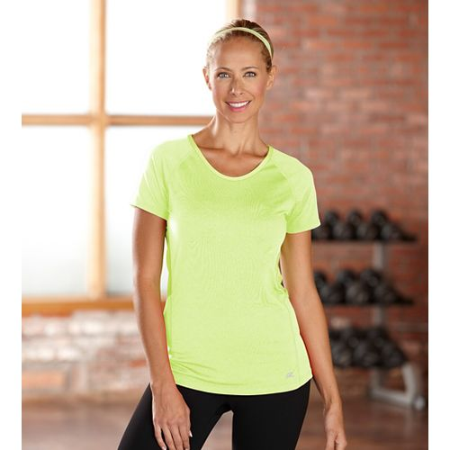 Womens R-Gear Fast and Fab Short Sleeve Technical Top - Lemon Lime XL