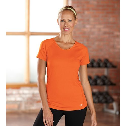Womens R-Gear Fast and Fab Short Sleeve Technical Top - Mimosa S
