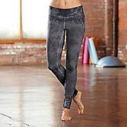 Womens R-Gear Leg Up Tie-Dye Legging Full Length Tights - Charcoal XS