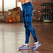 Womens R-Gear Leg Up Tie-Dye Legging Full Length Tights