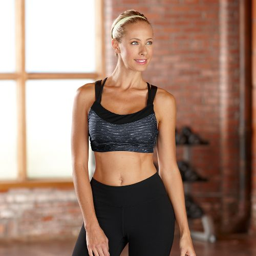 Womens R-Gear Picture Perfect Sports Bra - Charcoal L