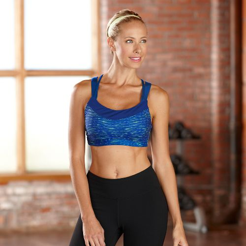 Womens R-Gear Picture Perfect Sports Bra - Pacific Blue L