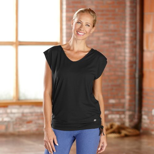 Womens R-Gear Picture Perfect Short Sleeve Technical Tops - Black XS