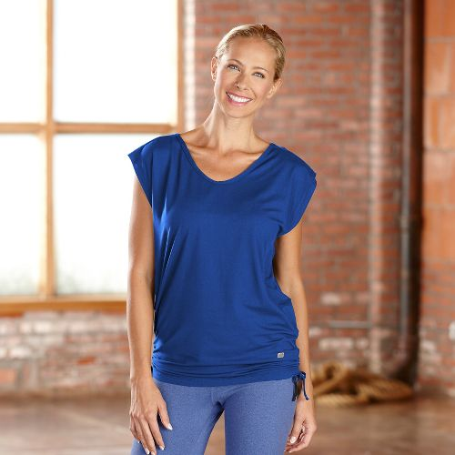 Womens R-Gear Picture Perfect Short Sleeve Technical Tops - Pacific Blue L