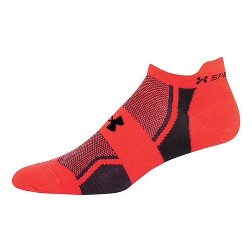 Men's Under Armour Speedform Socks - Hyper Green/Graphite L