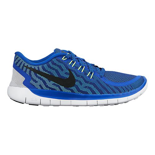 Kids Nike Free 5.0 (GS) Running Shoe - Blue 3.5
