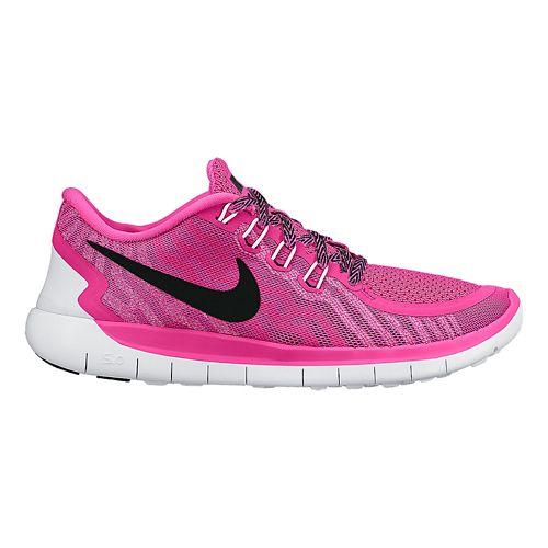 Kids Nike Free 5.0 (GS) Running Shoe - Pink 6