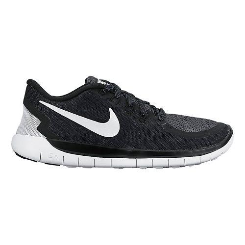 Kids Nike Free 5.0 (GS) Running Shoe - Blue 4