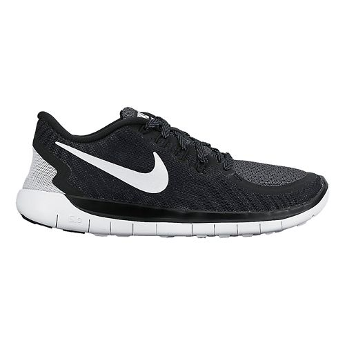 Kids Nike Free 5.0 (GS) Running Shoe - Black 5.5