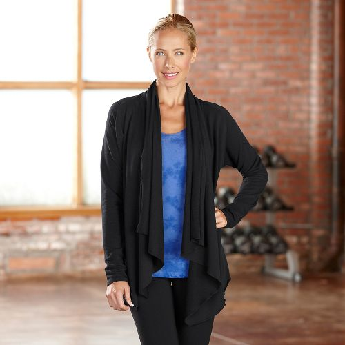 Womens R-Gear Cozy Cardi Long Sleeve Non-Technical Tops - Black M