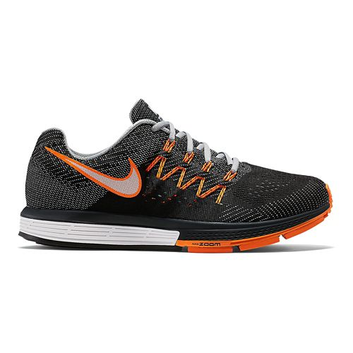 Mens Nike Air Zoom Vomero 10 Running Shoe - Grey/Orange 9