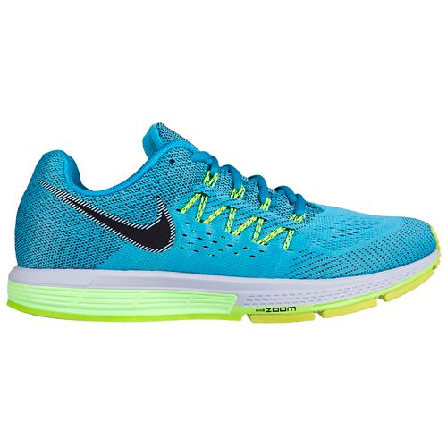 Mens Nike Air Zoom Vomero 10 Running Shoe - Blue/Green 11.5