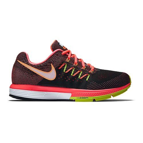 Mens Nike Air Zoom Vomero 10 Running Shoe - Black/Lava 8