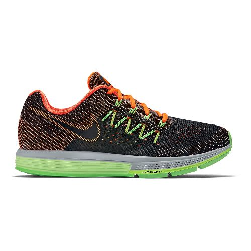 Mens Nike Air Zoom Vomero 10 Running Shoe - Black/Orange 8