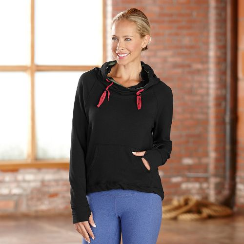 Womens R-Gear Urban Appeal Hoodie Long Sleeve Hooded Technical Tops - Black XS