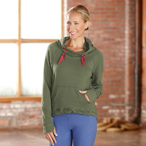 Womens R-Gear Urban Appeal Hoodie Long Sleeve Hooded Technical Tops - Olive XS