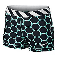 "Womens Nike Pro 3"" Big Dot Unlined Shorts"