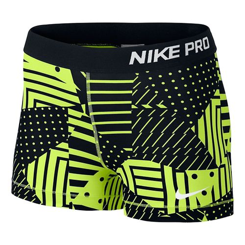 Womens Nike Pro Patchwork 3