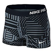 "Womens Nike Pro Patchwork 3"" Unlined Shorts"