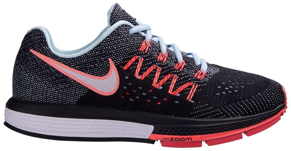 Womens Nike Air Zoom Vomero 10 Running Shoe - Black/Lava 6