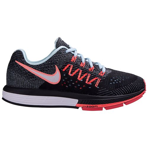 Womens Nike Air Zoom Vomero 10 Running Shoe - Black/Lava 6.5