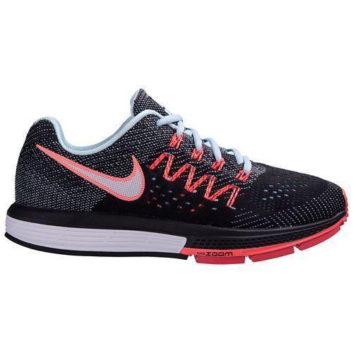 Womens Nike Air Zoom Vomero 10 Running Shoe - Black/Lava 6.5