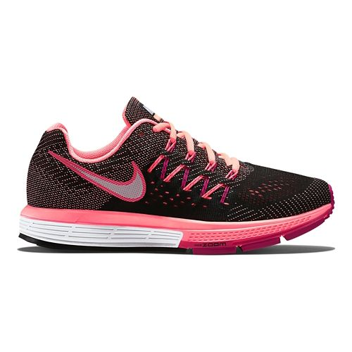 Womens Nike Air Zoom Vomero 10 Running Shoe - Black/Pink 8