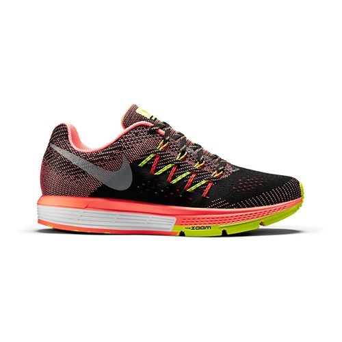 Womens Nike Air Zoom Vomero 10 Running Shoe - Charcoal/Orange 11