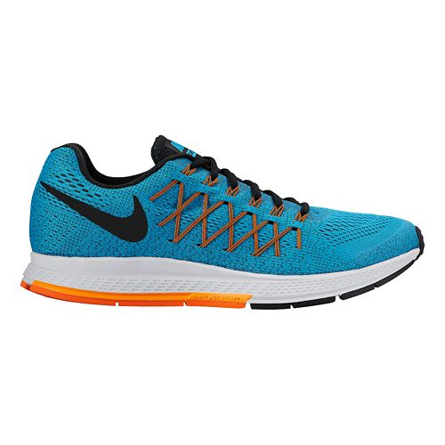 Mens Nike Air Zoom Pegasus 32 Running Shoe - Blue 12.5