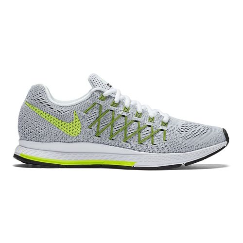Womens Nike Air Zoom Pegasus 32 Running Shoe - Grey/Volt 12