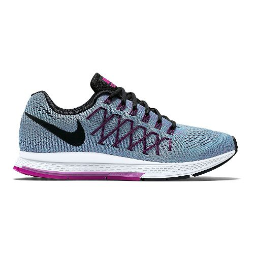Womens Nike Air Zoom Pegasus 32 Running Shoe - Blue/Fuchsia 10.5
