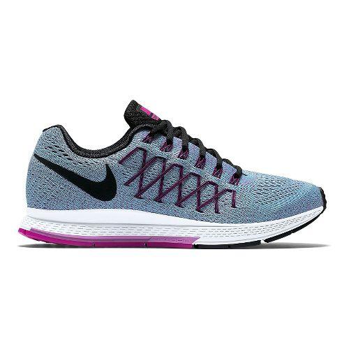 Womens Nike Air Zoom Pegasus 32 Running Shoe - Blue/Fuchsia 6