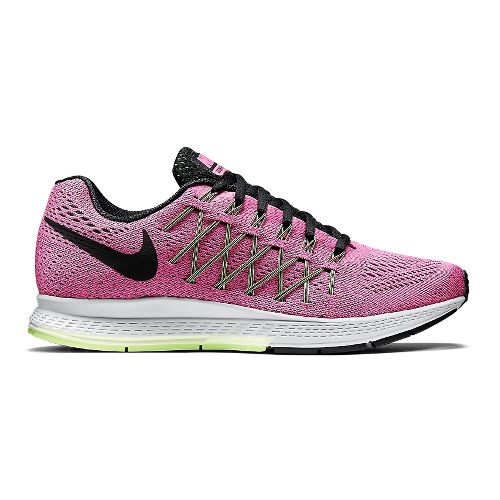 Womens Nike Air Zoom Pegasus 32 Running Shoe - Blue/Fuchsia 7