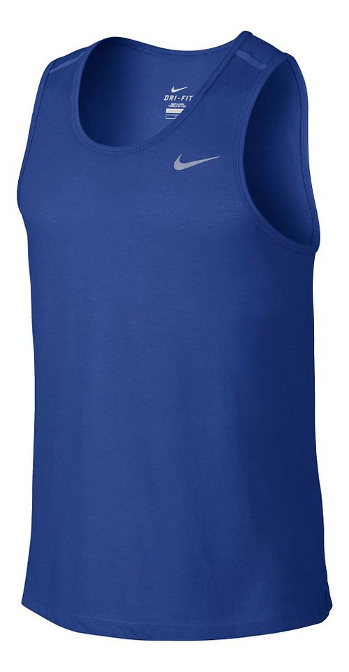 Men's Nike DF Cool Tailwind Tanks Technical Top - Game Royal S
